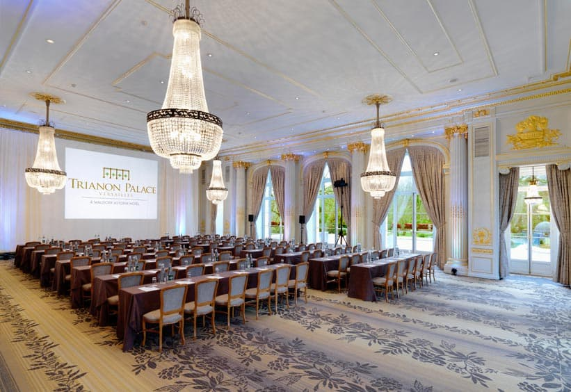 R unions mariages au trianon palace versailles for Trianon plan salle